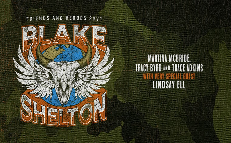 More Info for Blake Shelton Friends and Heroes Tour