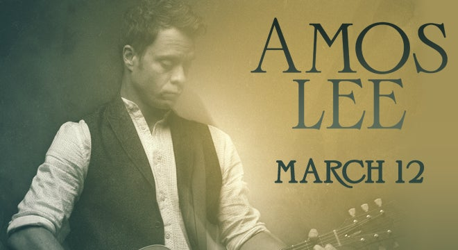 Amos Lee North Charleston Coliseum Amp Performing Arts Center