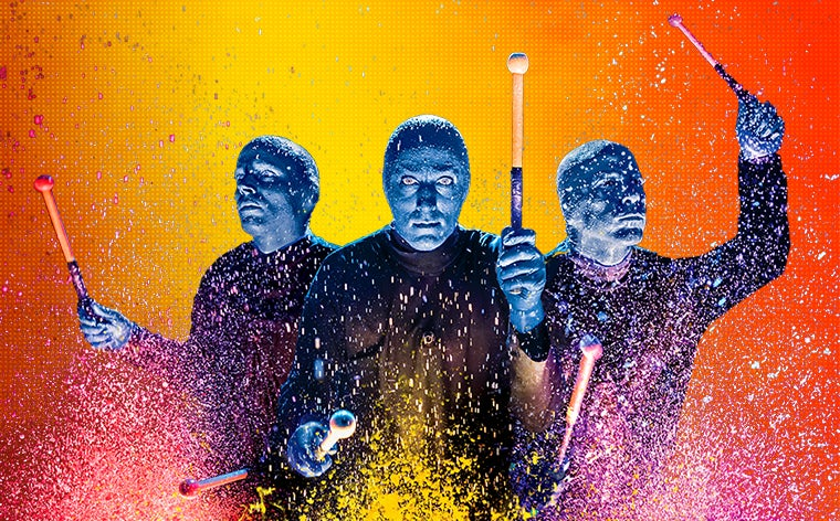 More Info for CANCELLED - Blue Man Group