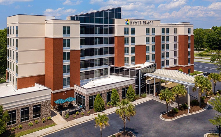 Hyatt Place Charleston Airport/Convention Center <BR> .5 miles away