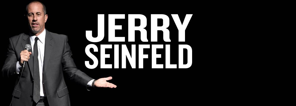 Cash And Go >> Jerry Seinfeld | North Charleston Coliseum & Performing ...