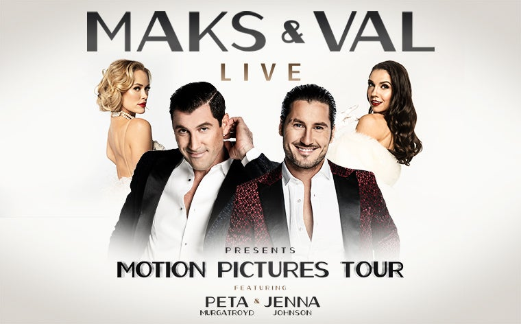 More Info for CANCELLED - Maks & Val Live