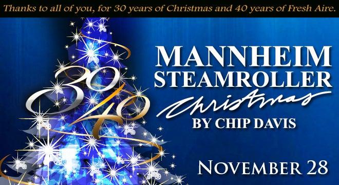 Mannheim Steamroller Christmas | North Charleston Coliseum ...