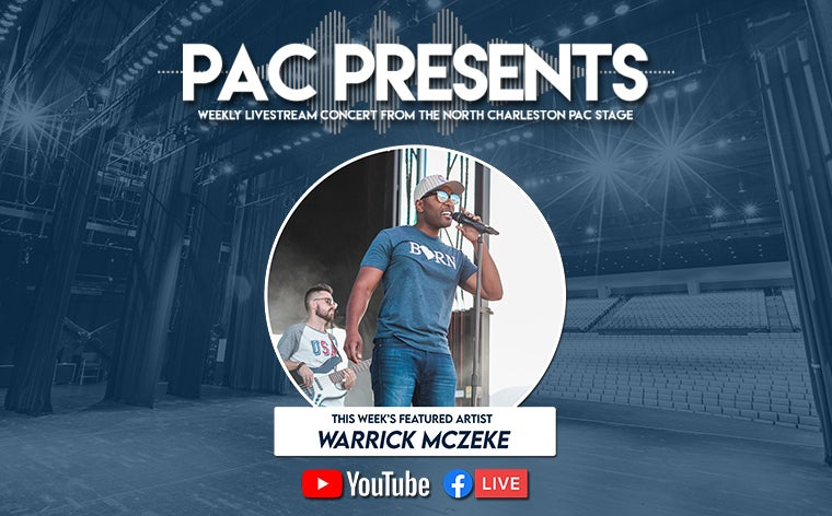 More Info for PAC Presents: Warrick McZeke