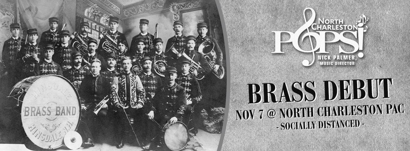 CANCELLED - North Charleston POPS! Brass Debut