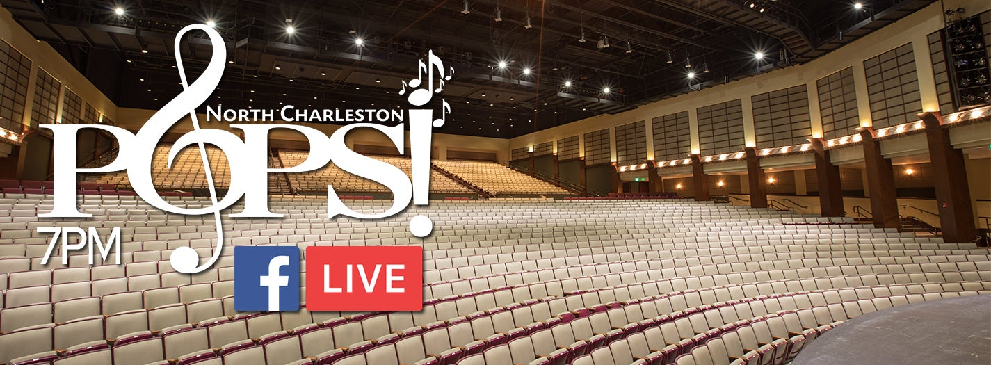 "North Charleston POPS! ""Roman and Friends"" Livestream Concert"
