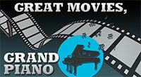 North Charleston POPS! Great Movies, Grand Piano