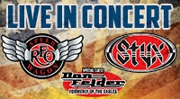 REO Speedwagon / STYX with Special Guest Don Felder