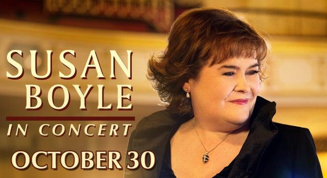 Susan Boyle North Charleston Coliseum Amp Performing Arts