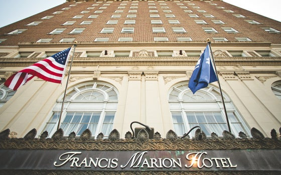 Francis Marion Hotel <BR> 9.4 miles away